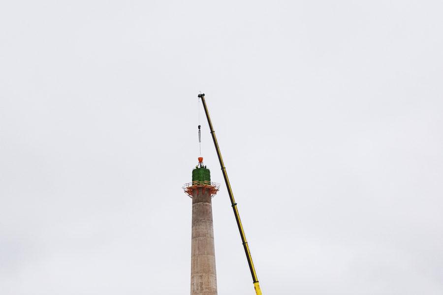 Construction of Aidu Wind Farm