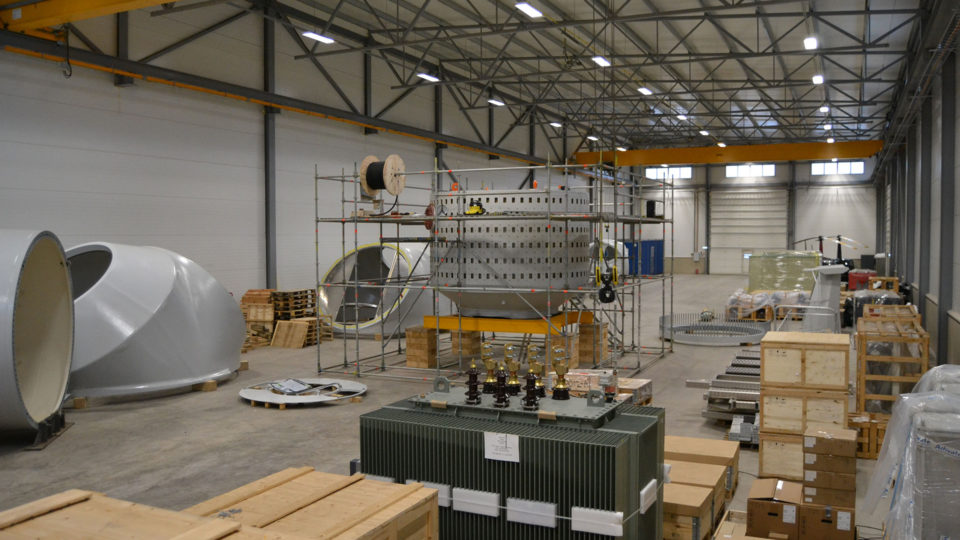 Eleon Wind Turbines Assembly Workshop